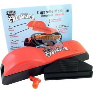 Tube Cut Normal King Size Cigarette Making Maker Injector Rolling Roller Machine
