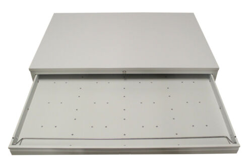Papierschrank DIN-A1Zeichnungsschrank 5 SchübeGrafikschrank RAL 7035 GRAU