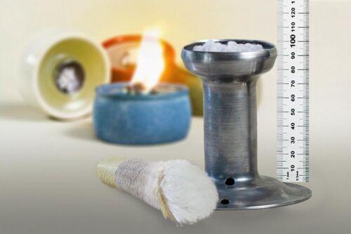 Mèche support 9,5 cm pour Point de fusion Lumières Bougies restes fibre optique Mèche lampenocht