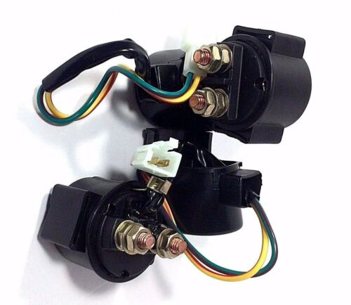 TWO STARTER SOLENOID RELAYS FITS HONDA FOREMAN RUBICON 500 2004 2005 2006 2007