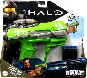 Halo-BOOMco-UNSC-M6-Pistol-Blaster-Dart-Blaster-Toy-Green