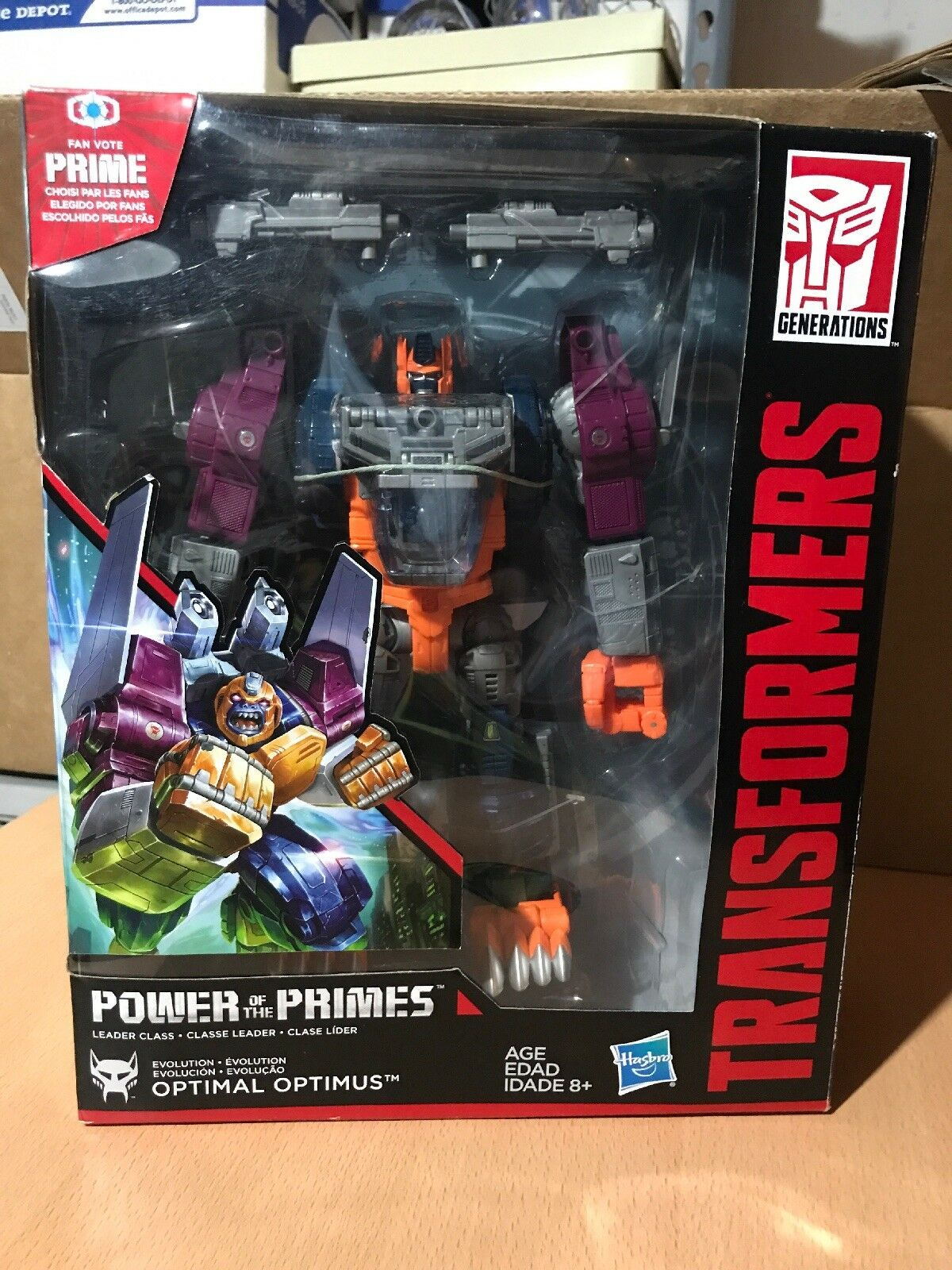 Transformers Power of the Primes - Leader Wave 3 - Optimal Optimus New