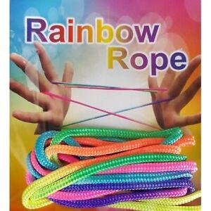 Rainbow-Rope-Jeu-doigt-jeu-corde-filament-Ztringz-casse-tete-Fais-des-figurines