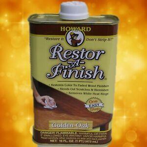Howard's  RF3016 Restor-A-Finish 16oz. (1 pint) Golden Oak