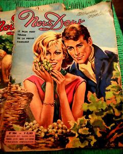 Vintage-1964-NOUS-DEUX-Magazine-904-Photo-Novel-Johnny-Hallyday-Sylvie-Vartan