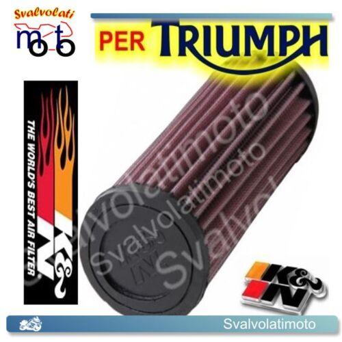 FILTRO ARIA SPORTIVO K/&N-KN-K N TRIUMPH BONNEVILLE 900 2010 TB-9004