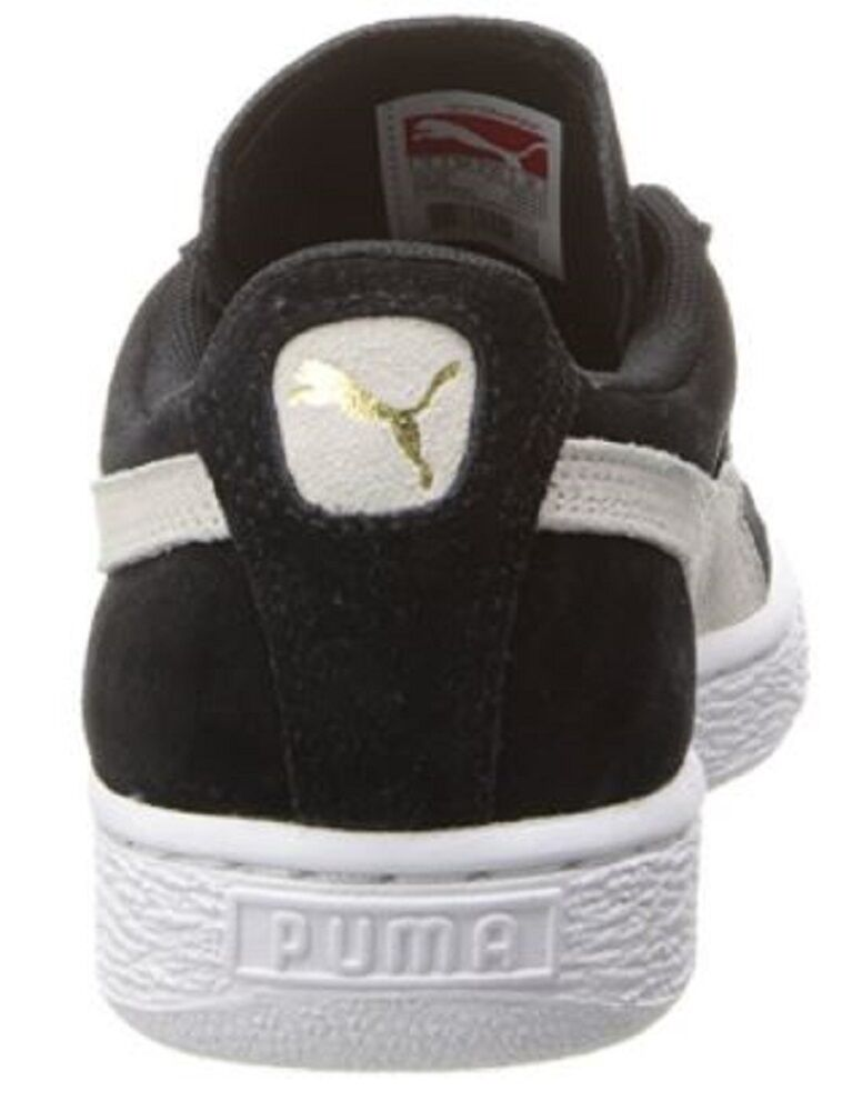 Para mujeres Zapatos Tenis Puma Puma Tenis Gamuza Moda Clásica Negro blancoo 3f41f1