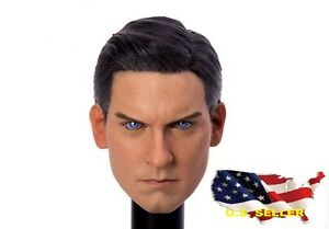1-6-Tobey-Maguire-Spider-Man-Head-Sculpt-3-0-For-Hot-Toys-Phicen-USA-SELLER