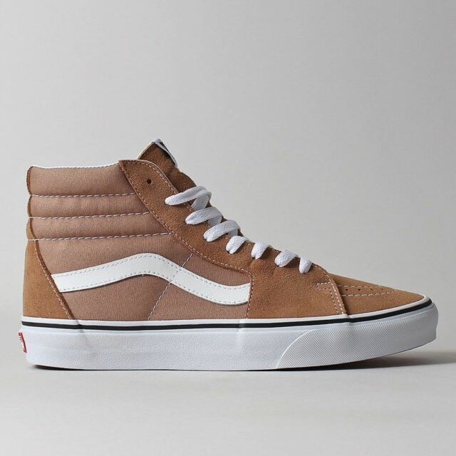 19cd53d12125 VANS Sk8 Hi Tiger s Eye true White Men s Classic Skate Shoes Size 10 ...