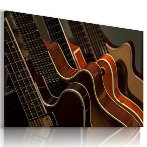WOODEN GUITARS Musical Electric Classical Flamenco Canvas Wall Art WA22 X MATAGA