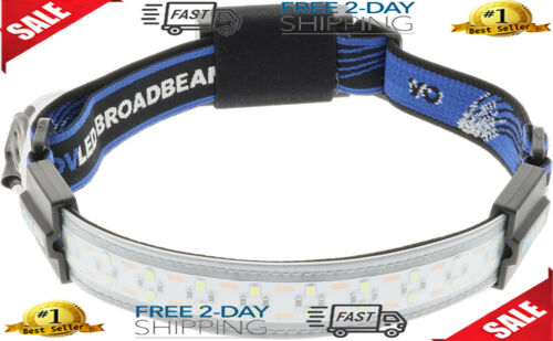 Lightweight Run Rechargeable Headlamps for Camping Hiking Hard Hat LED Light