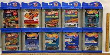 10 Pc Vintage 1997 Hot Wheels 30 Years 1968-1998 Flying Colors Mattel 1:64 NIB