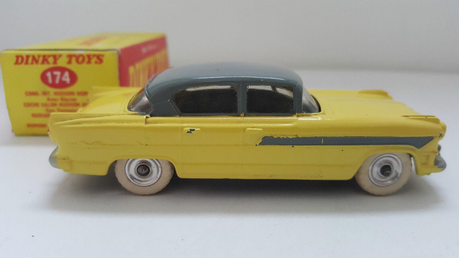Dinky Toys - 174 - Hudson Hornet Sedan en boîte d'origine N Mib