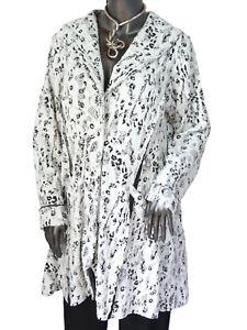 Weiss Gr Coat Coat l Femminile Leins' Longjacke Kurzmantel Xl Summer Jacket BxwvBfrqtA