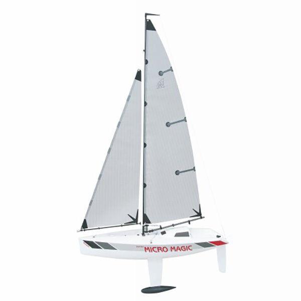 greypner Micro Magic Racing RC Model Yacht Radio Control Sailing Boat