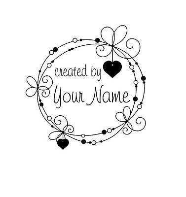 Personalized Custom Handle Mounted Made Mounted  rubber stamp C113