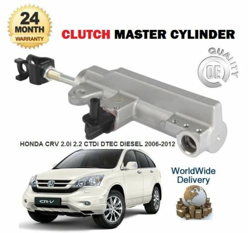 FOR HONDA CRV 2.0i 2.2 CTDi DTEC 2006-/>on BRAND NEW CLUTCH MASTER CYLINDER