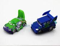 New Disney Pixar Cars Diecast Metal DJ With Flames & Wingo NO.3 Car Toy