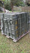 M2A1 AMMO CAN Very Good Condition  Grade 2  FREE SHIPPING  Prepper Box M2A2