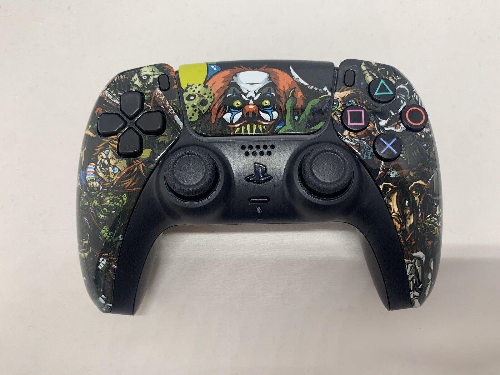 PlayStation 5 PS5 Controller Wireless Custom Halloween IT The Clown, Chucky