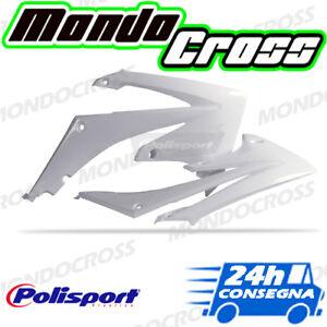 MONDOCROSS Fianchetti convogliatori radiatore POLISPORT Bianco HONDA CRF 450 R 02-04
