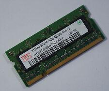 512mb para portátiles memoria Hynix hymp 564s64p6-c4 pc4200 ddr2 top! (n2)