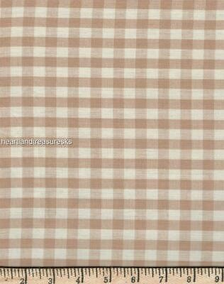 Dunroven House H-30 Wheat w// Country Red Stripes  Homespun Fabric ~ You Pick