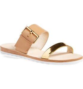 dcac574e99d4 kate spade new york Women s  Attitude  Slide Sandal Size 7 Natural ...