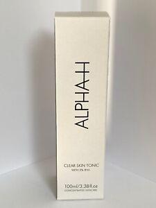 Alpha H tonico della pelle chiara nuova release di prodotto per le spaccature 100ml Nuovo & Inscatolato