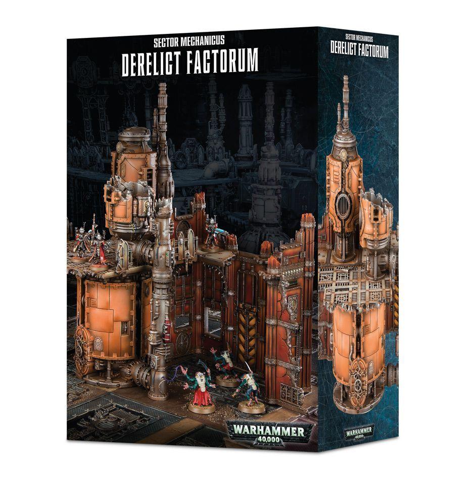 SECTOR Mechanicus Derelict  factorum giocos lavoronegozio Kill squadra Necromunda terreno  vendendo bene in tutto il mondo