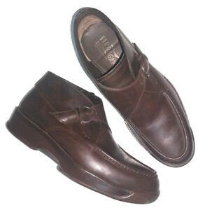 64cd1937be1 La foto se está cargando Salvatore-Ferragamo-Para-Hombre-Botas-al-Tobillo- Zapatos-
