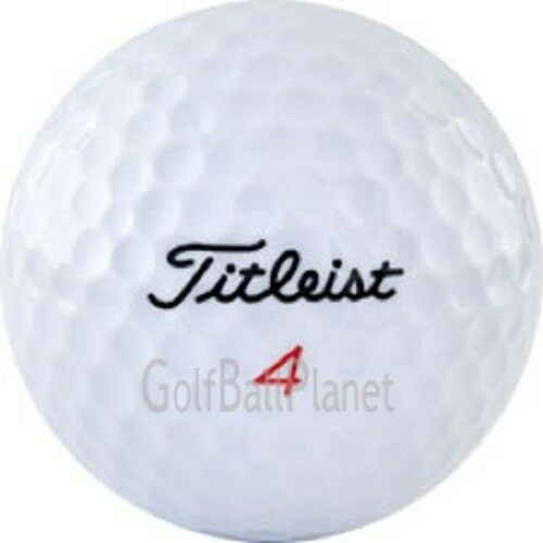 72 Titleist Mix Mint AAAAA Used Golf Balls + Free Tees