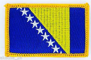 Patch Ecusson Brode Drapeau Bosnie Herzegovine Insigne Thermocollant Neuf Flag Ohwt9lic-07224613-952075697