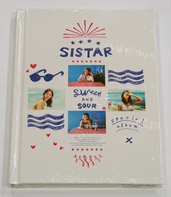 SISTAR - Sweet & Sour (Special Album) CD+Photobook+Photocard K-POP KPOP