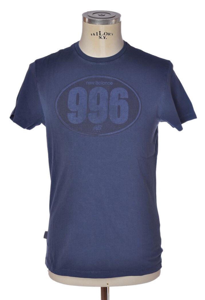 New Balance - Topwear-T-shirts - man - bluee - 797618C183455