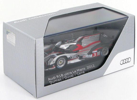 Audi R18 Ultra  3 Le Mans 2012 1 43 (Audi PROMO)