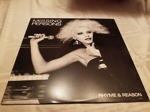 Missing-Persons-Rhyme-amp-Reason-Vinyl-Record-LP-1983-Synth-Pop-Rock