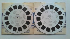 View Master  2 Reels  1001 + 1002  London  England