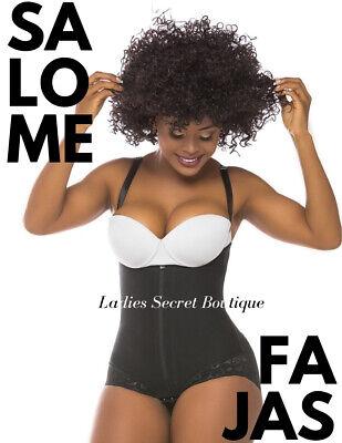 Generous Fajas Salome 0412 Body Shaper Modelador Tipo Bikini Con Encaje Siliconado Enfaja Lustrous Surface Shapewear