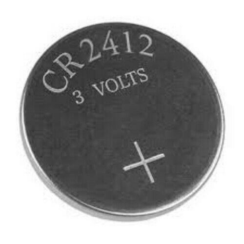 1 x 2412 DL2412 CR2412 Coin Cell Battery 3v Lithium