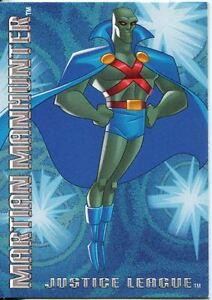Image Is Loading Justice League 2003 Postopia Exclusive Promo Card 5