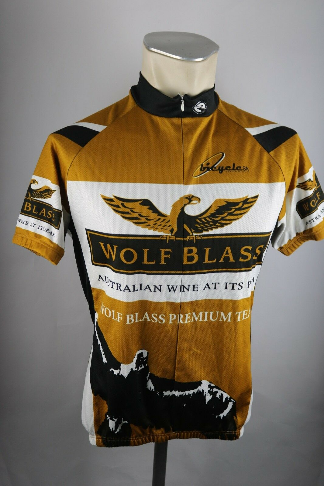Wolff Blass Australia Wine Radtrikot Radtrikot Radtrikot Gr. M 52cm Bike cycling jersey Shirt F7 416ab3