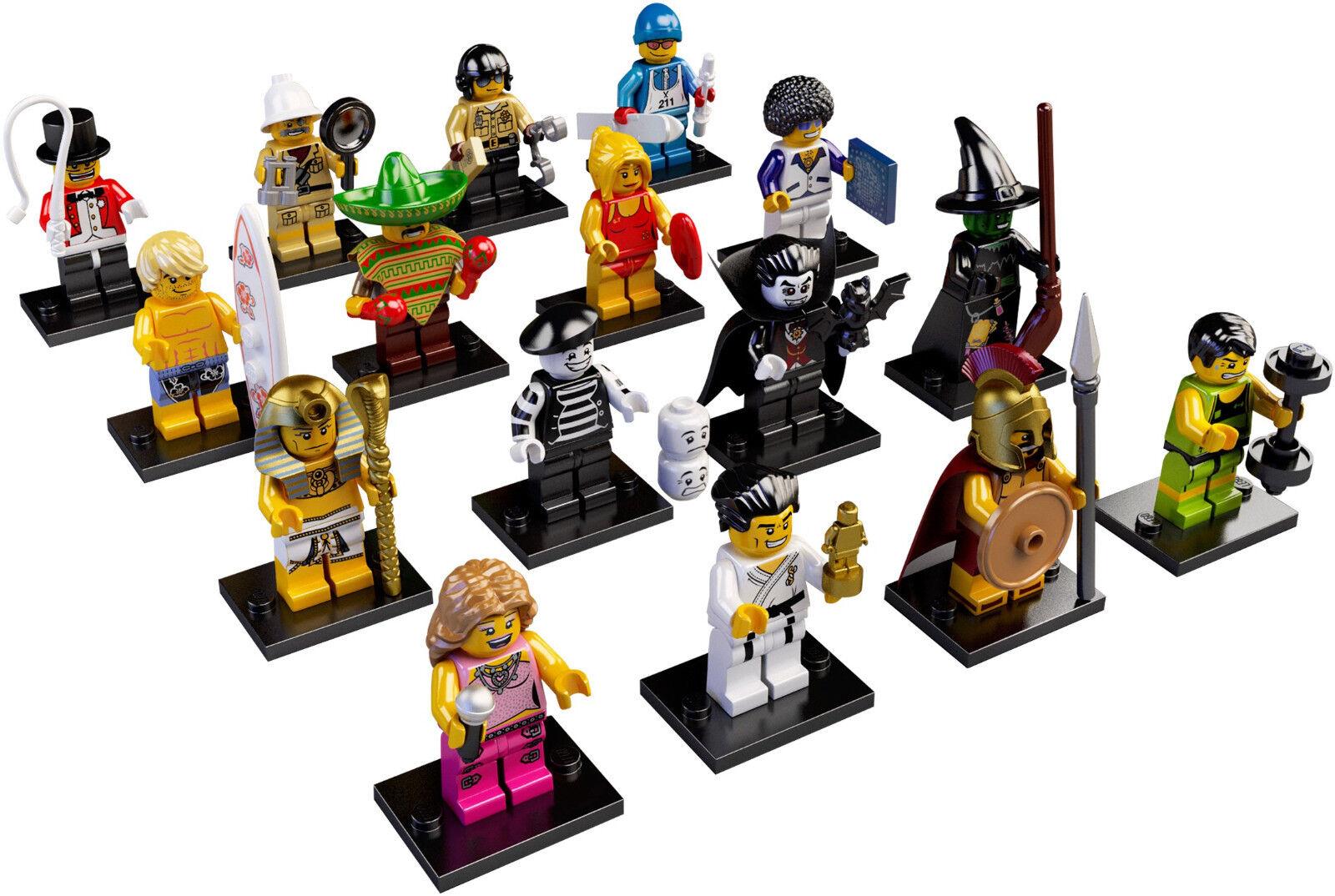 Lego Minifigures - SET 8684 - SERIE 2 - COMPLETA