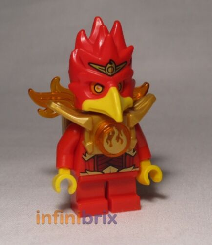 Lego Flinx from set 70146 Flying Phoenix Fire Temple Legends of Chima NEW loc077