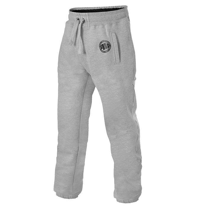Pit Bull West Coast Jogging Pants Logo 17 Grau Bodybuilding Fitness