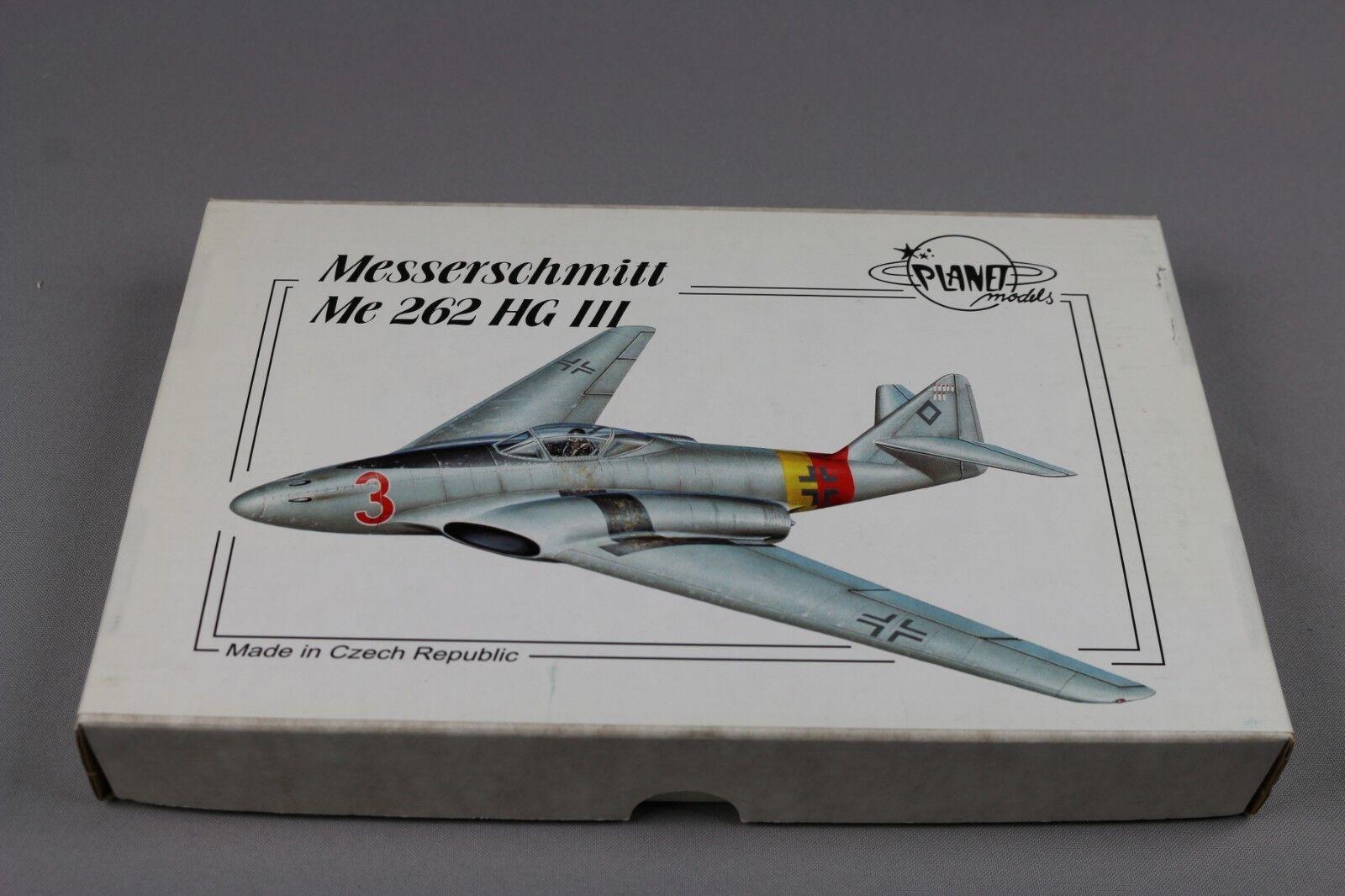 ZF863 Planet Model 1 72 maquette avion 131 Messerschmitt Me 262 HG III Resin Kit