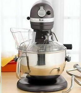 Image Is Loading New KitchenAid Kp26m1xqpm 600 Stand Mixer 6 Quart