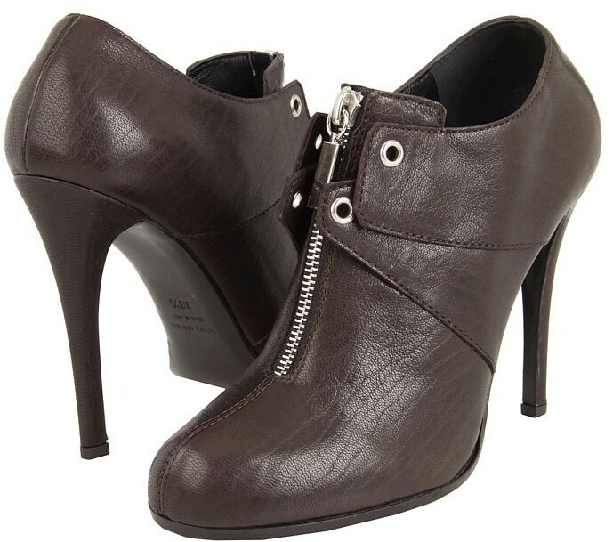 GIUSEPPE ZANOTTI WI1602 BOOTIES  Mgold LEATHER LEATHER LEATHER  7us  795 MADE IN ITALY 2681b6