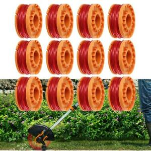 For-Worx-Spool-Line-String-Trimmer-Edger-WA0010-WA0007-12-6-Pack-Replacement-US