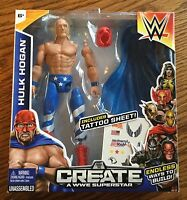 Wwe Hulk Hogan Wrestling Figure Mattel Create A Superstar Toy Patriot